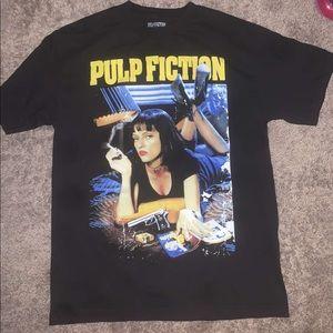 Vintage style pulp fiction t shirt